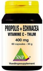 SNP Propolis and echinacea and thijm and vitamine C 400 mg Capsules