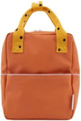 Sticky Lemon Original Backpack Small carrot orange Kindertas