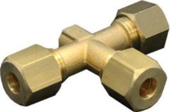 Gimeg Knelkoppeling T-stuk - overige gasfittingmateriaal - bruin