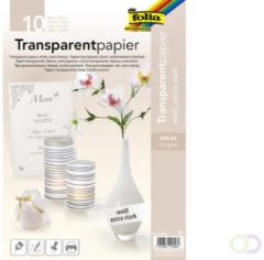 Folia Paper Transparant papier Folia A4 115gr wit
