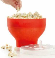 Lekue Lékué magnetron popcornmaker 20 x 15 2,8 liter silicone rood