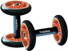 Grijze Toorx Fitness Toorx Core Wheels - Buikspierwielen - Set