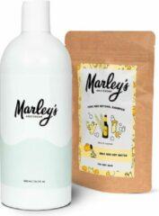 Marley's Amsterdam starterspakket   Duurzame en natuurlijke shampoo   Bier & Wierook + Herbruikbare shampoo fles   Shampoo starterskit   Maak je eigen duurzame en natuurlijke shampoo   Kerstcadeau   Geschenkset   Giftbox