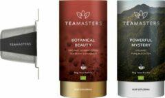 Teamasters klein - Botanical Beauty - Powerful Mystery - Groene Thee - Thee Geschenkset - Cadeautip - Losse Thee - Theedoos - Relatiegeschenk
