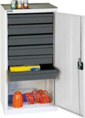 Stumpf Metall Stumpf® Serie 3000 Werkzeugschrank mit 6 Schubladen, lichtgrau - 100 x 50 x 50 cm