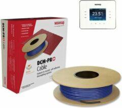 4,5m²DCM-PRO Vloerverwarming kabel voor 4,5m² + gratis WARMUP 3iE Programmeerbare thermostaat   675W   o.a. Tegels   Levenslange garantie