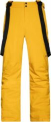 Gele Protest MIIKKA Skibroek Heren - Dark Yellow - Maat XL