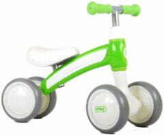 Witte QPlay Cutey Ride On Loopfiets - Jongens en Meisjes - Groen