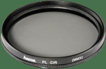 Zwarte Hama Polarisatiefilter - Circulair - Standaard Coating - 58mm
