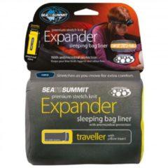 Grijze Sea to Summit - Expander Liner zwart/grijs