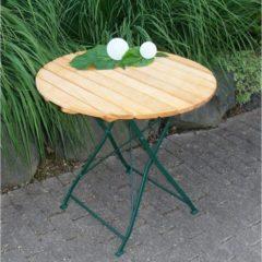 Express Tuintafel hout opklapbaar Bad Tolz groen 77cm