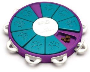 Nina Ottosson Dog Twister Paars - Blauw 34,5 x 34,5 x 5 cm