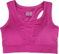 Merkloos / Sans marque Fitness / Sport BH Dames SACHA - Roze - Maat XL