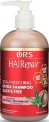 ORS HAIR REPAIR SCALP RESCUING DETOX SHAMPOO SULFATE FREE 384 ML