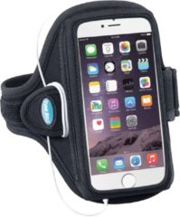 Zwarte Tune Belt AB86 Smartphone Sport Armband voor iPhone/ Samsung / HTC