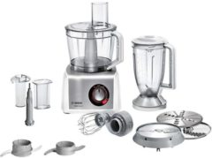 Bosch MC812S814 keukenmachine 3,9 l Roestvrijstaal, Wit 1250 W