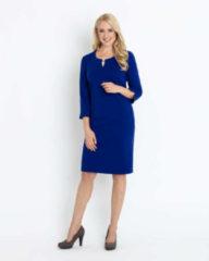 Couture Line Kleid mit Schmuckschließe