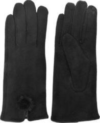 Juleeze Melady Handschoenen Winter MLGL0018Z 8*24 cm - Zwart Synthetisch Handschoenen Dames