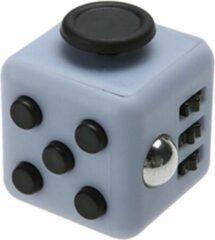 Tokomundo Fidget Cube tegen Stress - Fidget Toys - Stressbal - Speelgoed Jongens - Speelgoed Meisjes - Grijs