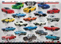 Eurogra Puzzel 1000 stukjes-American Muscle Car evolution