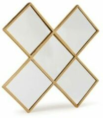 Gouden Vtwonen spiegel Kruis Gold 45cm