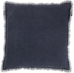 Blauwe Dutch Decor Sierkussen Burto 45x45 cm Insignia Blue