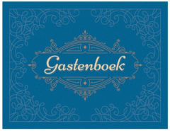 Deltas Paperstore: Gastenboek Blauw