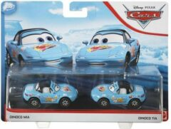 Blauwe Cars™ Disney Cars auto 2-pack voertuigen - Dinoco Mia & Dinoco Tia