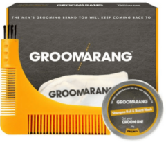 Groomarang The Pro Collection - Baardkam, baardshampoo, beard Catcher