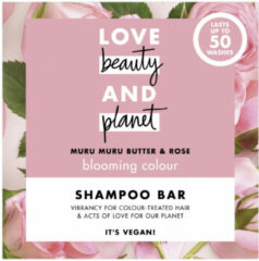 Love Beauty and Planet Blooming Colour Shampoo Bar - 90 gram