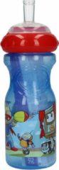 Blauwe Nûby Nuby Drinkfles voor Kinderen Super Kids Sipper – 20x6x6cm   Fles voor mee naar school of tijdens het Sporten   Meeneemfles
