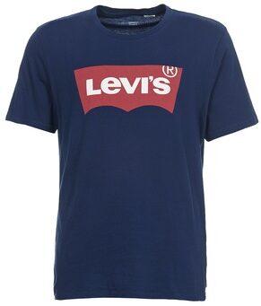 Afbeelding van Marineblauwe Levi's Levi Shirt - Maat XL - Mannen - navy/rood/wit