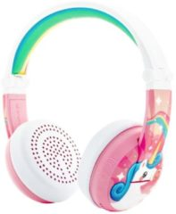 Onanoff Over-ear hoofdtelefoon BT, Wave, unicorn roze