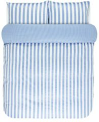 Satin Bettwäsche 'Classic Stripe' Marc O'Polo hellblau