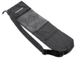 Zwarte Bremshey Tunturi Fitnessmat Draagtas - Yogamat draagtas - 62 cm x 15 cm - Zwart