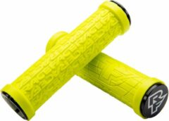 Gele Race Face Grippler handvatten, yellow Diameter 30mm