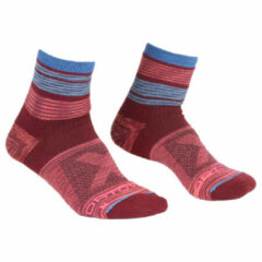 Ortovox - Women's All Mountain Quarter Socks Warm - Wandelsokken maat 42-44, rood/roze