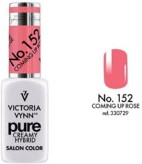 Witte VICTORIA VYNN™ Gel Nagellak - Gel Polish - Pure Creamy Hybrid - 8 ml - Coming Up Rose - 152