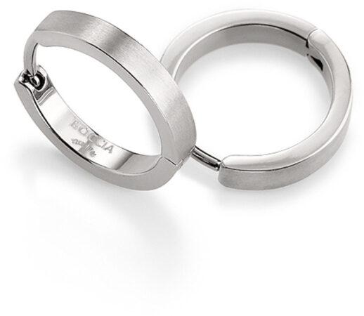 Afbeelding van Zilveren Boccia Titanium Boccia oorringen 0577-01 - Titanium - 14,5 mm