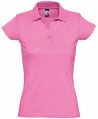 Roze Polo Shirt Korte Mouw Sols PRESCOTT CASUAL DAY