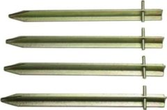10-T Outdoor Equipment 10T PEG IT 4T20 30SV - Stahl T-Profil Hering 4er-Set