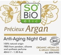 SOBiO tic Night Gel Anti Age Precieux Argan