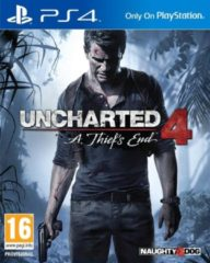 Naughty Dog Uncharted 4: A Thief's End (Original Box) /PS4
