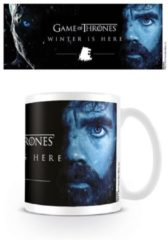 Witte GAME OF THRONES - Mug - 300 ml - Winter is Here - Tyrion