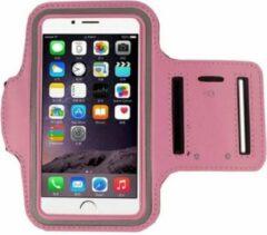 Go Go Gadget Sport Armband - Universeel - Verstelbaar - Hardlooparmband - Spatwaterdicht - Bescherming - Lichtgewicht - 85 x 165 mm (5,5 inch) - Roze
