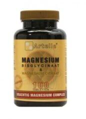 Artelle Magnesium Bisglycinaat & Magnesium Citraat - 100 tabletten - Mineralen - Voedingssupplement