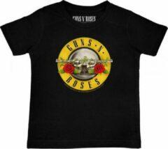 Rode Metal Kids T-shirt SS |GUNS 'N ROSES| Maat 116