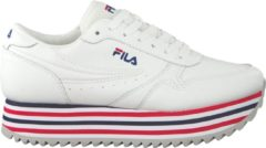 Fila Dames Sneakers Orbit Zeppa Stripe Wmn - Wit - Maat 41