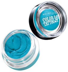 Maybelline Color Tattoo 24h - 20 Turquoise Forever - Blauw - Oogschaduw (Ex)