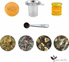 Come and Tea - Weerstand pakket - 235 gram losse thee - honing - boost je weerstand - gezondheidsthee - verse thee pakket